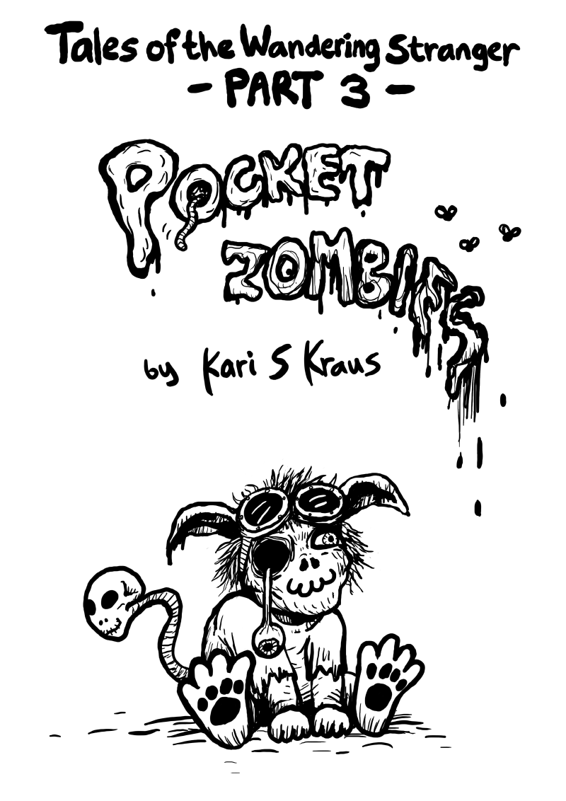 Pocket Zombies - Title page