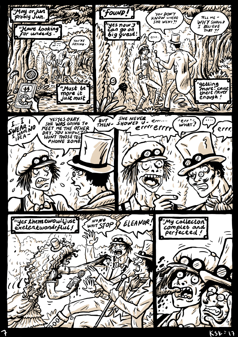 Pocket Zombies - Page 7